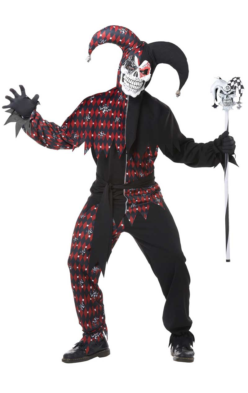 Adults Sinister Jester Costume