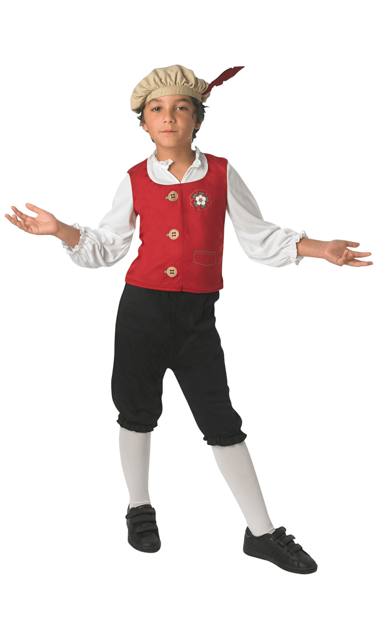 Kids Tudor Boy Costume