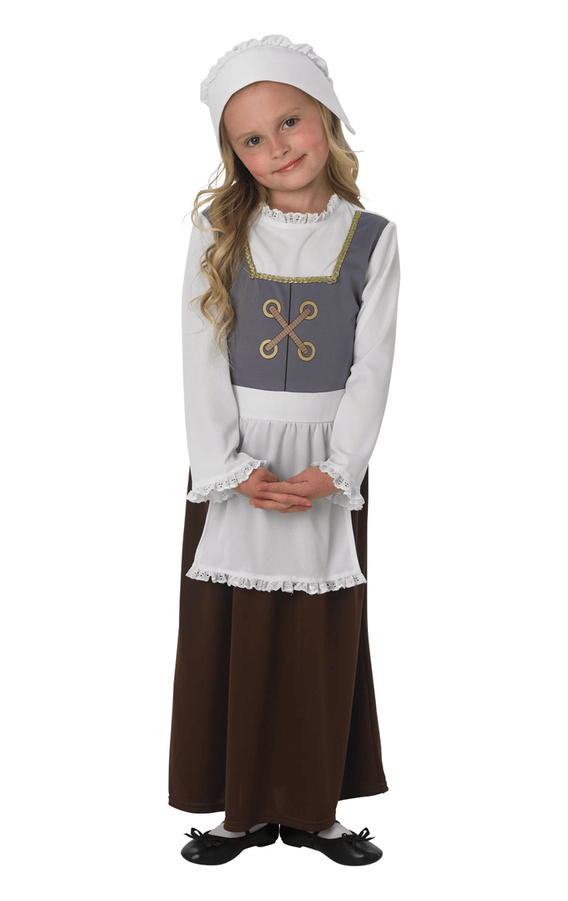 Kids Tudor Maid Costume