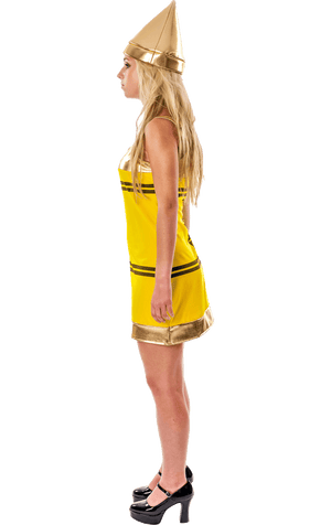 Yellow Crayon Dress Costume