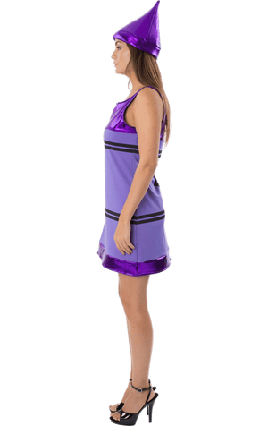 Purple Crayon Dress Costume