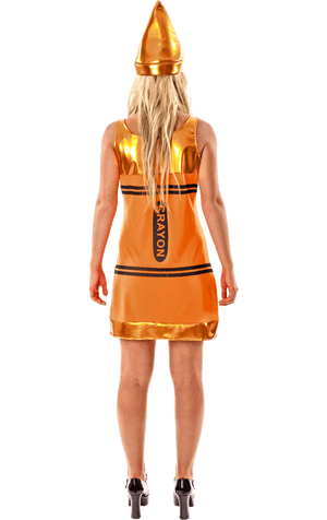 Orange Crayon Dress Costume
