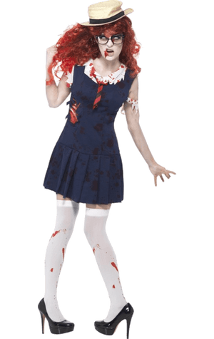 Ladies Student Zombie Costume