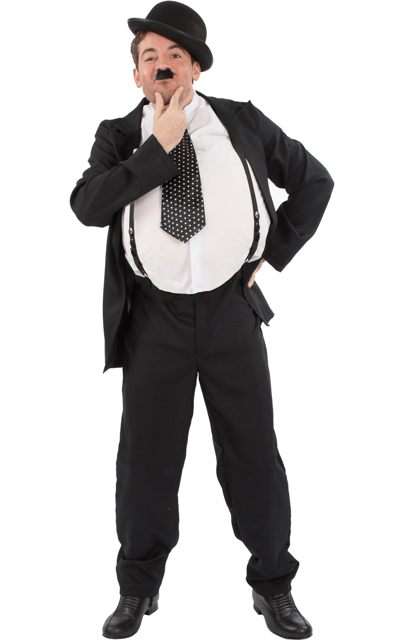 Oliver Hardy Double Act Costume