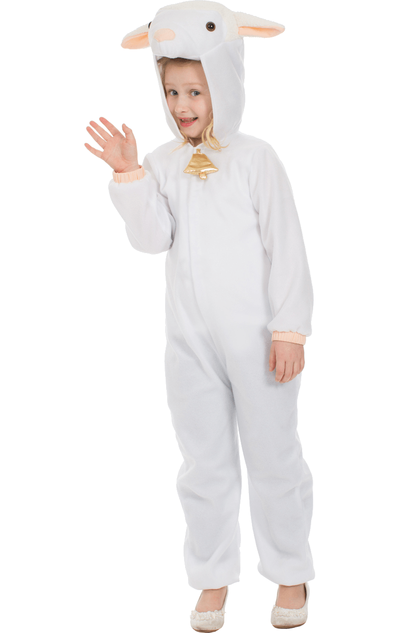 Kids Woolly Lamb Costume