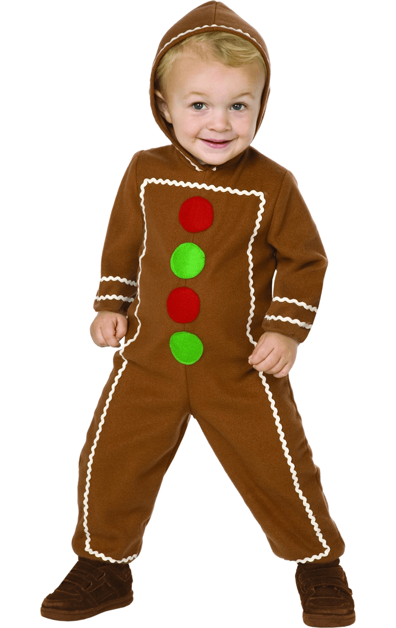 Kids Gingerbread Man Costume