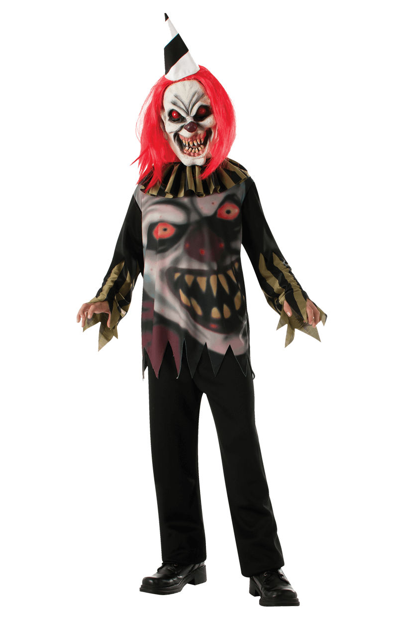 Kids Freako Clown Halloween Costume