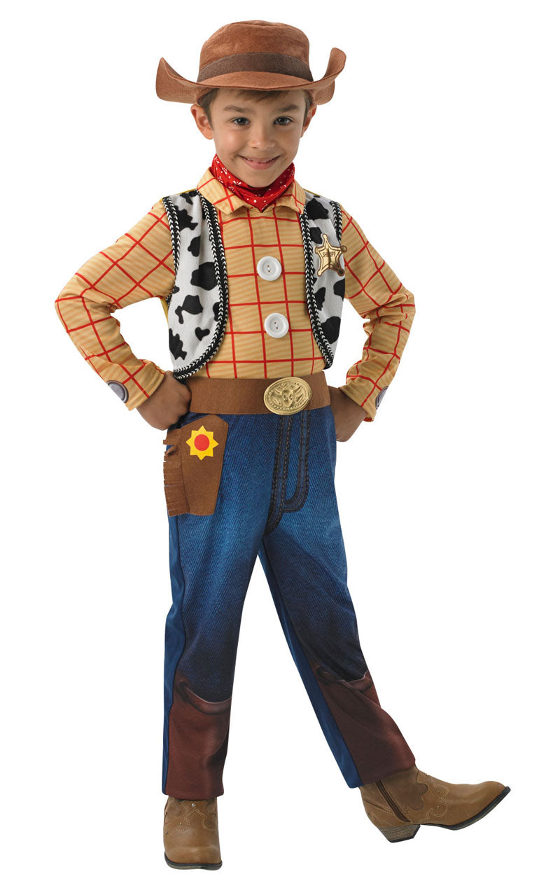 Kids Deluxe Woody Costume