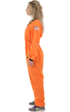 Adult Orange Spacewoman Costume