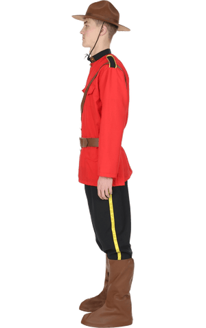 Adult Canadian Mountie Costume