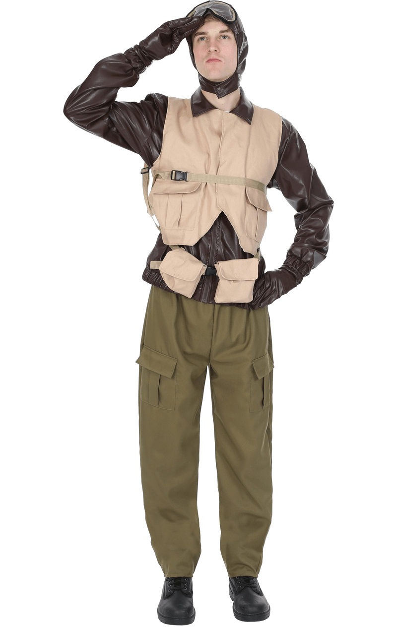 Adult Mens WW2 Pilot Costume