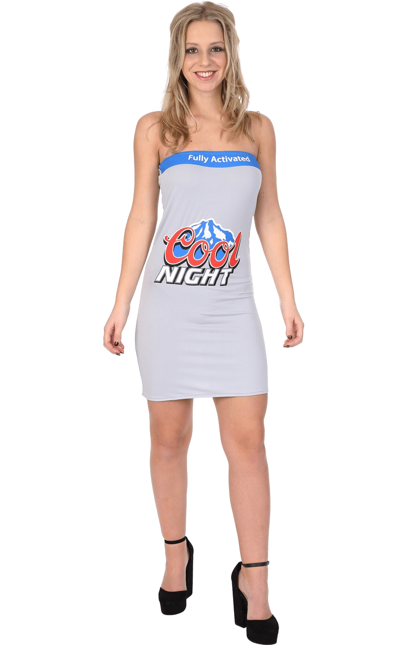 Womens Cools Light Beer Costume