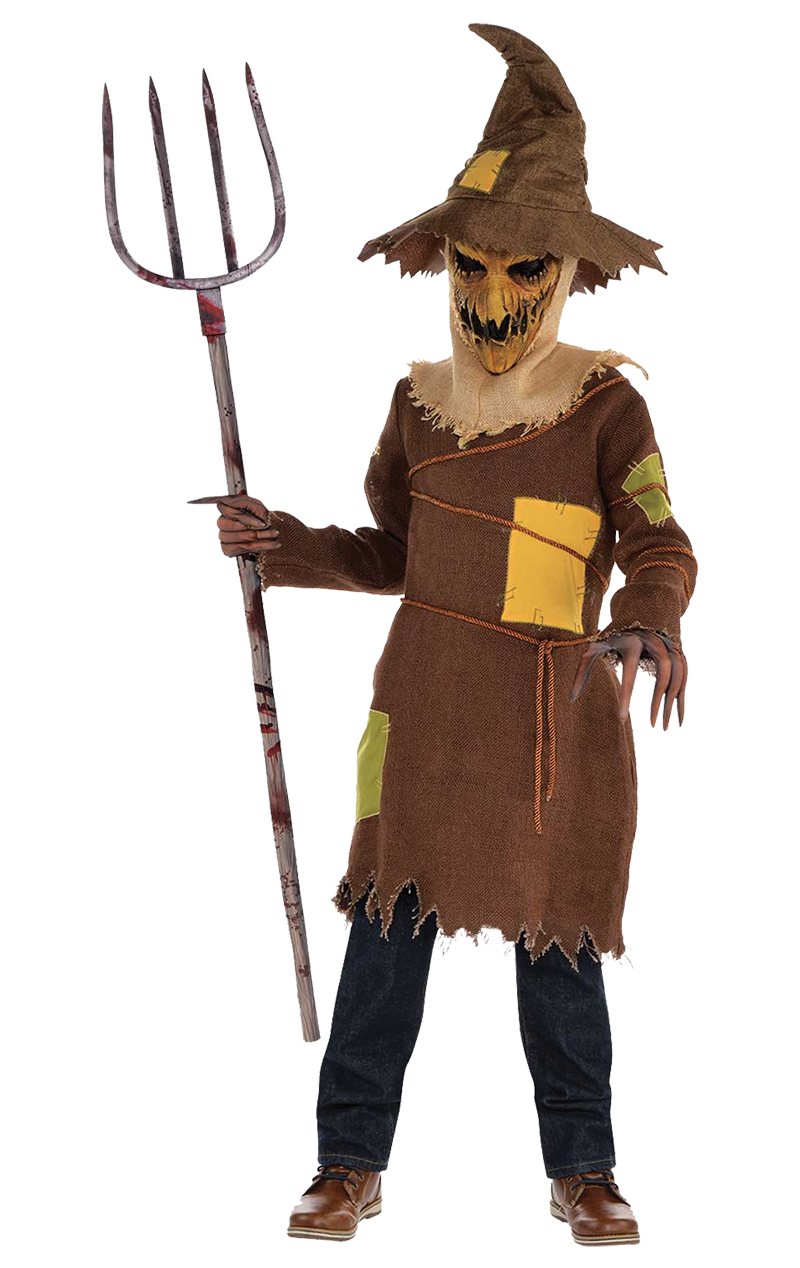 Kids Scary Scarecrow Costume