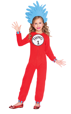Kids Thing 1 & 2 Costume