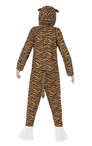 Kids Tiger Jumpsuit Costume