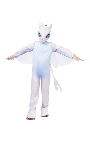 Kids Light Fury Costume