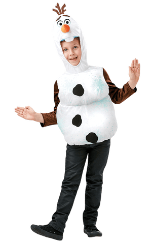 Kids Olaf Top Costume