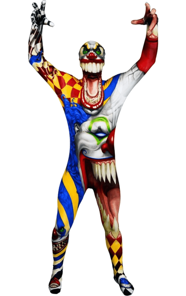 Kids Clown Morphsuit Costume