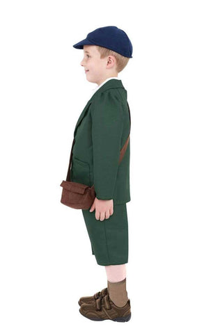Kids WW2 Evacuee Boy Costume
