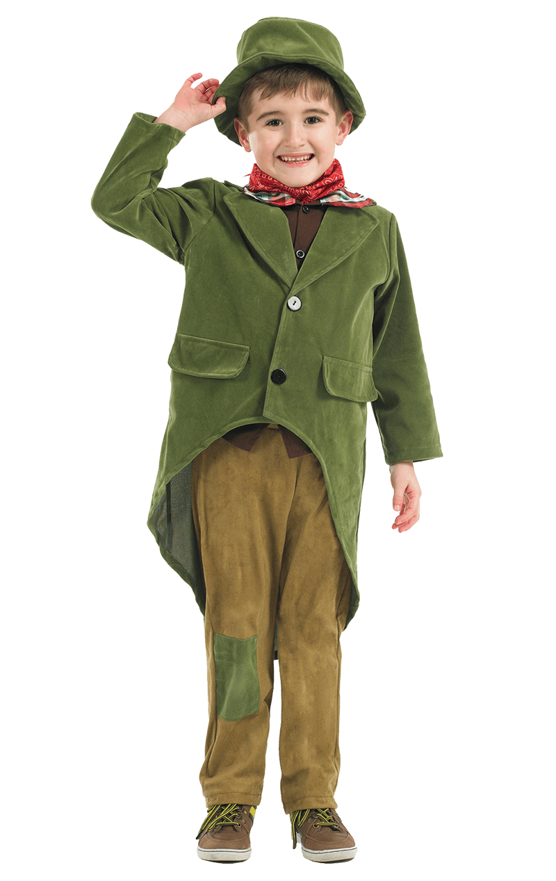 Child Dickensian Boy Costume