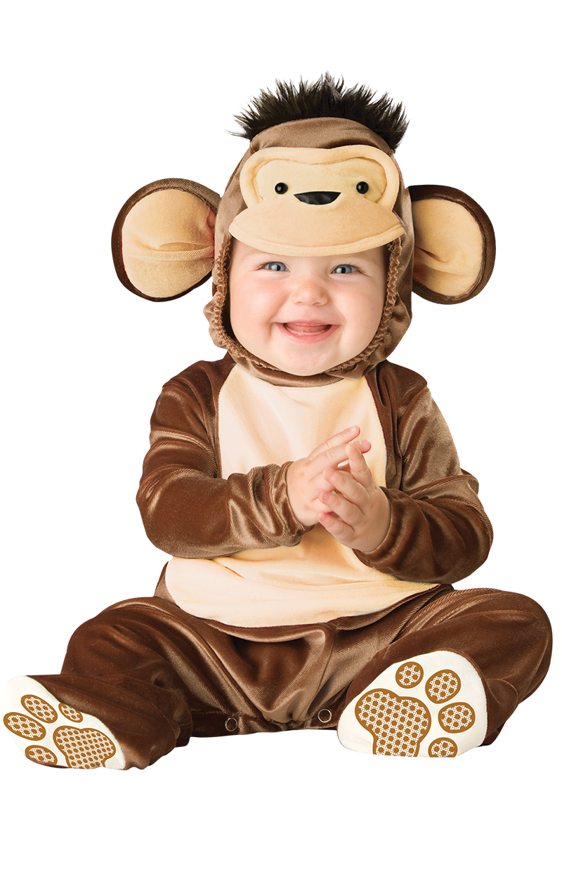 Baby Cheeky Monkey Costume