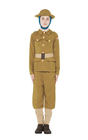Kids WW1 Soldier Army Costume