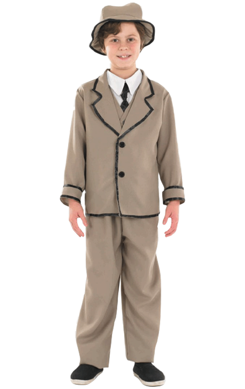 Kids Edwardian Boy Costume