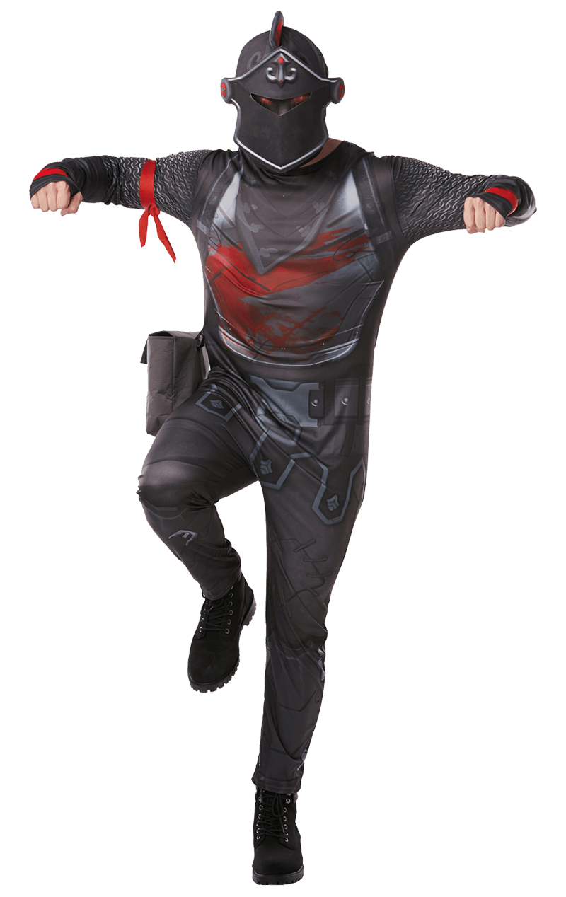 Kids Deluxe Black Knight Costume