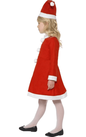 Kids Value Santa Girl Costume