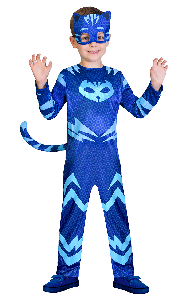 Kids PJ Facepieces Catboy Costume