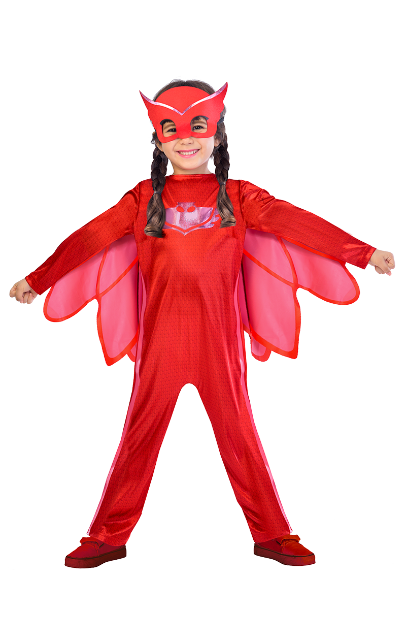 Kids PJ Facepieces Owlette Costume