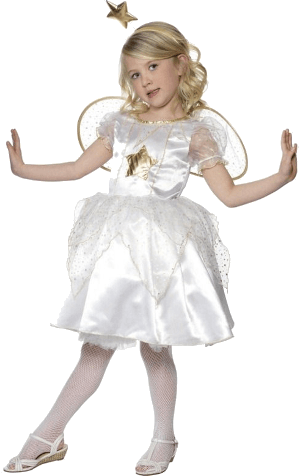 Kids Star Angel Costume