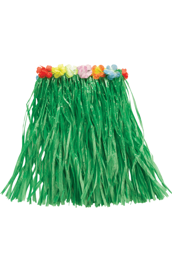 Hawaiian Grass Skirt Green Accessory