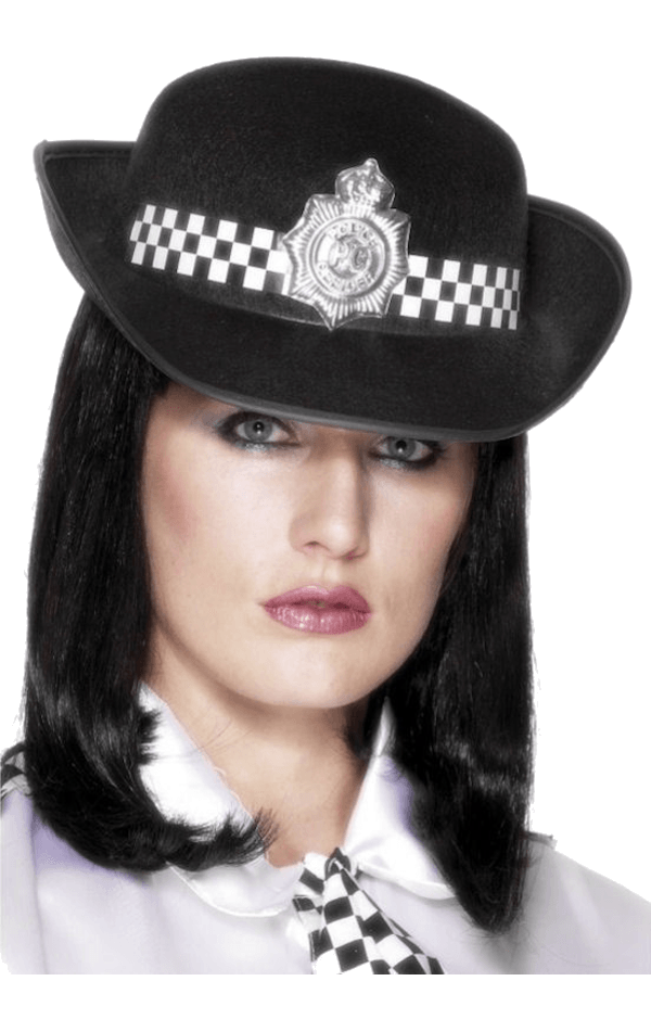 Police Woman's Hat Costume