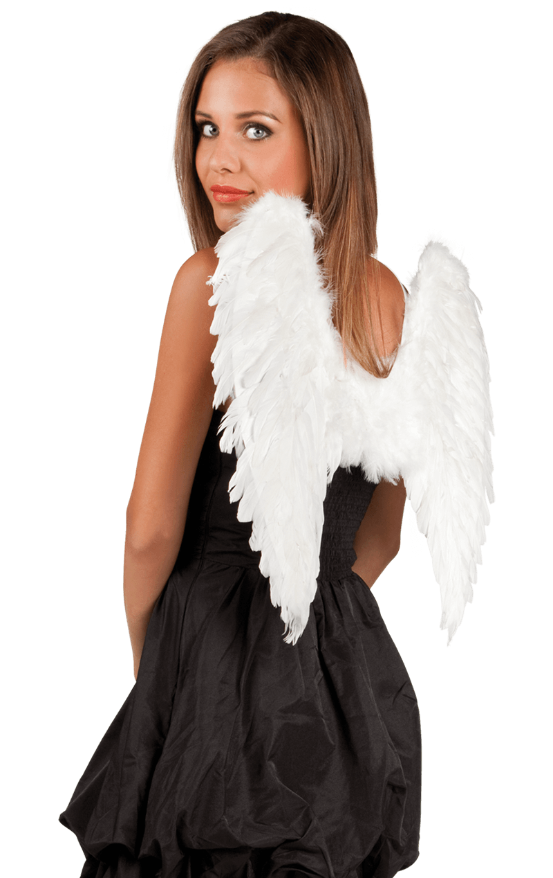White Angel Wings - Small