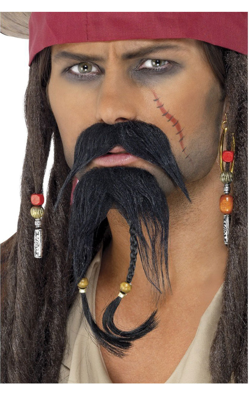 Pirate Facial Hair Accessory