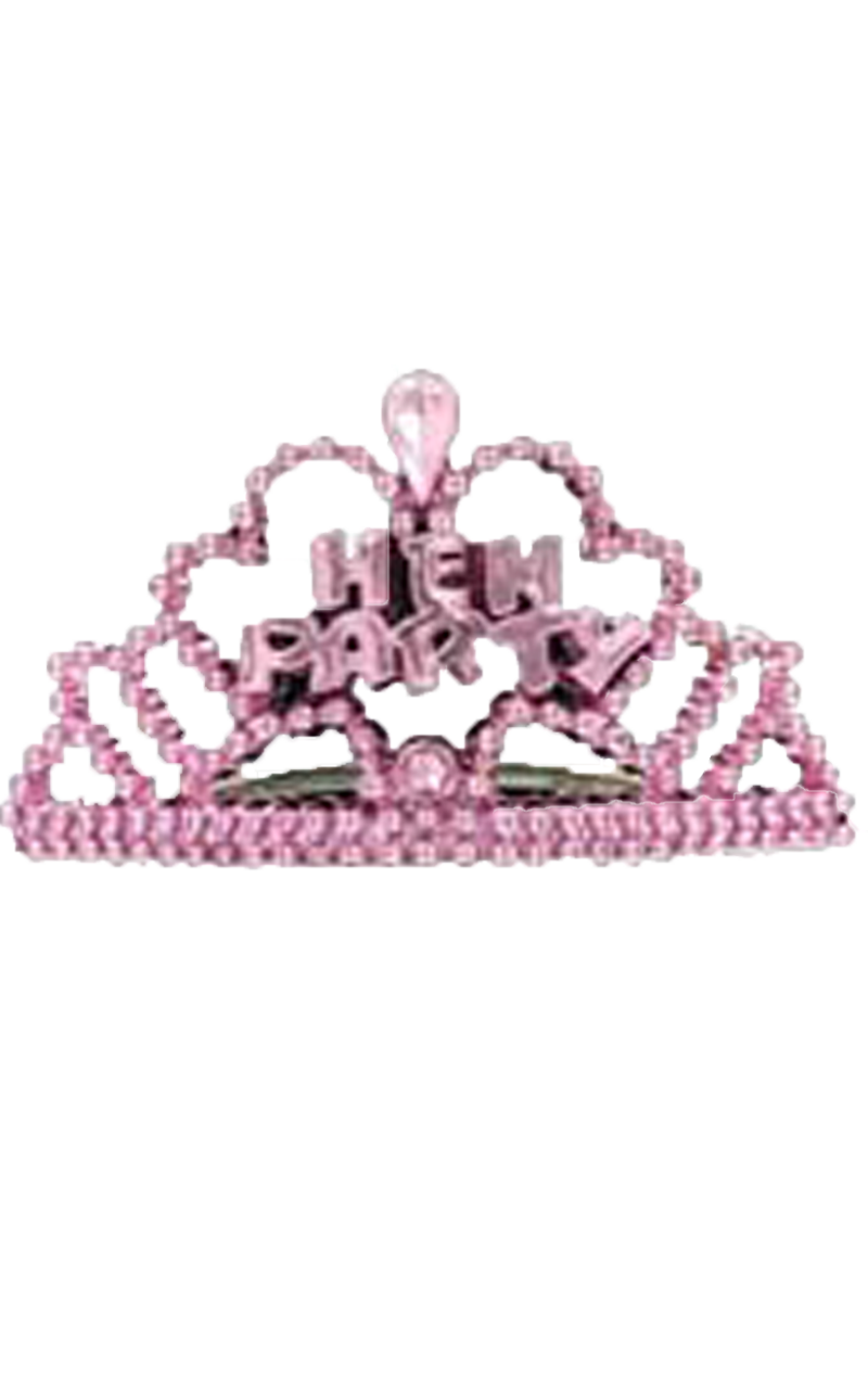 6 Hen Night Mini Tiaras