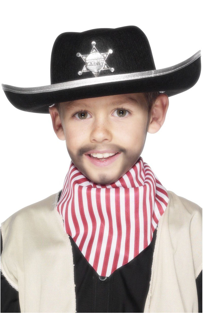 Sheriff Hat Costume Accessory