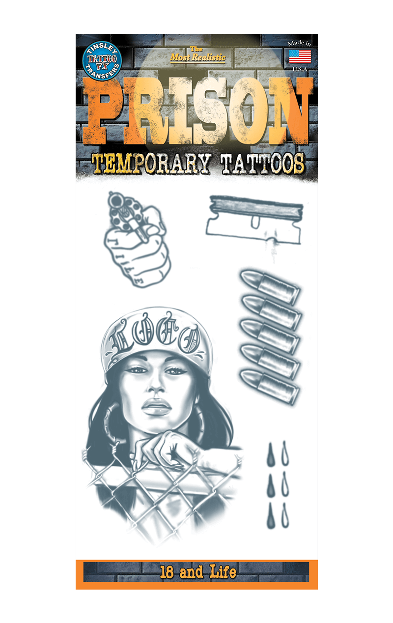 Prison tattoo set Accessory