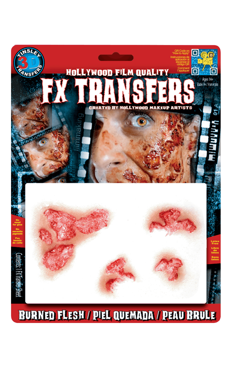 Burned Flesh 3D FX Transfers
