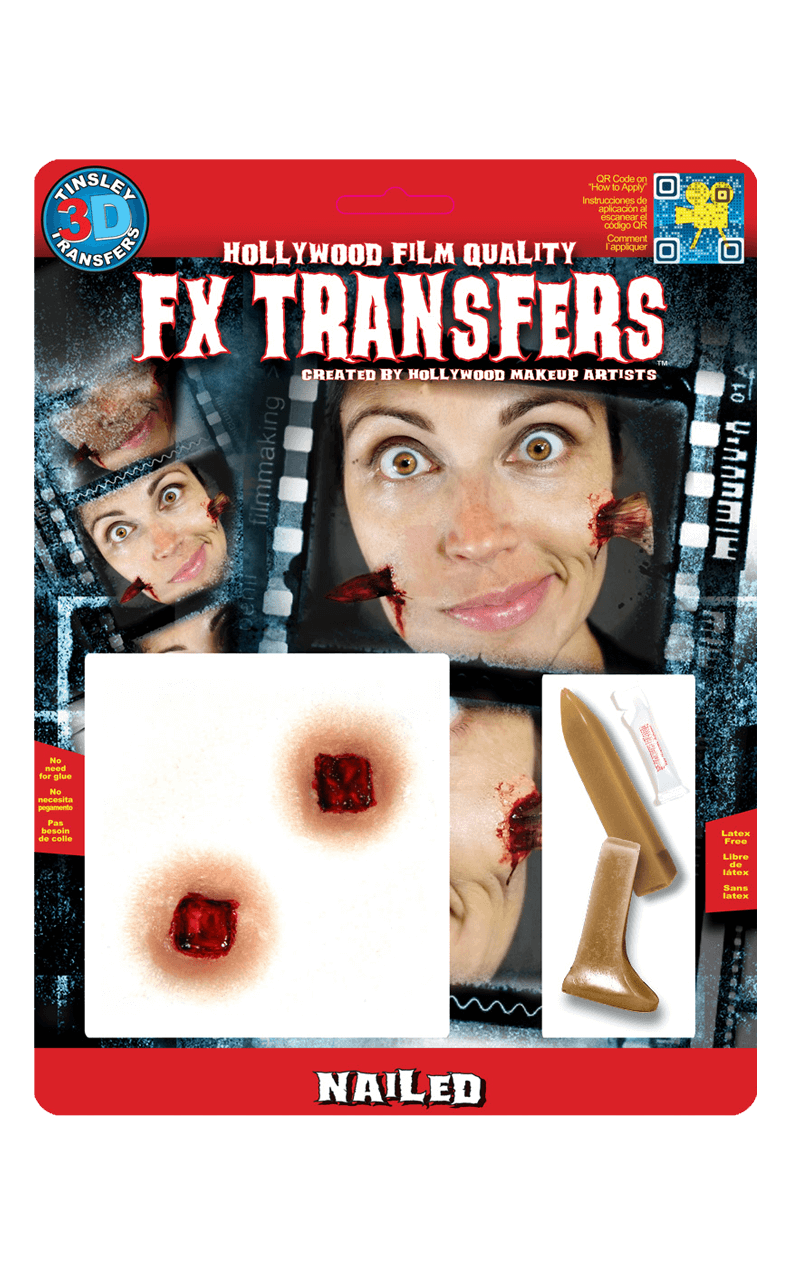 Nailed 3D FX Transfers Accessory