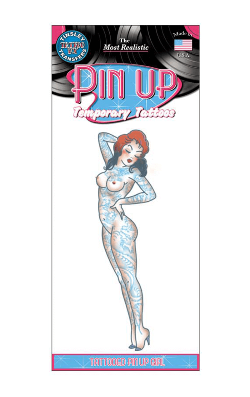 Pin Up Girl Tattoo Accessory