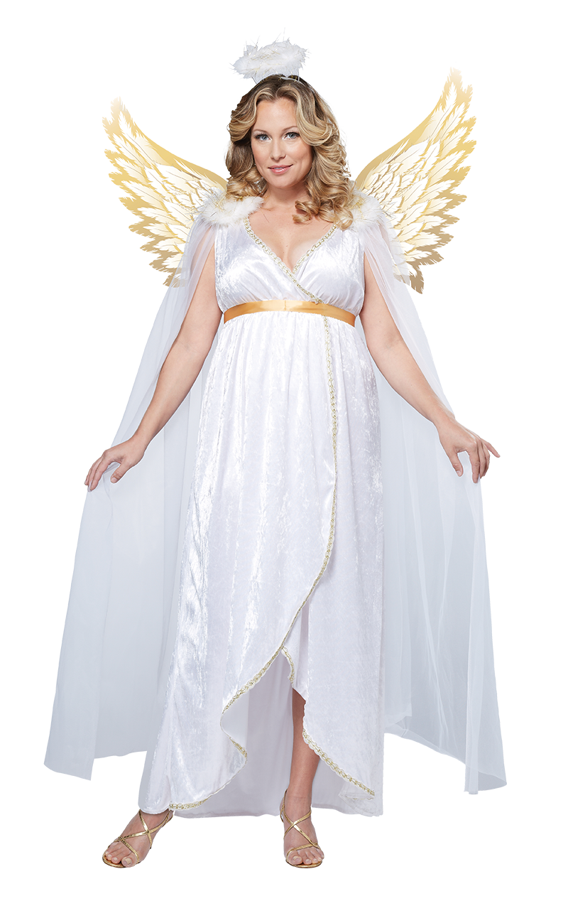 Gentle Angel Plus Size Costume