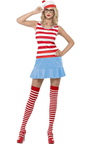 Where's Wally Wendy Costume