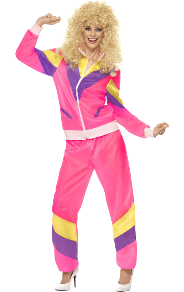 80s Retro Shellsuit Costume