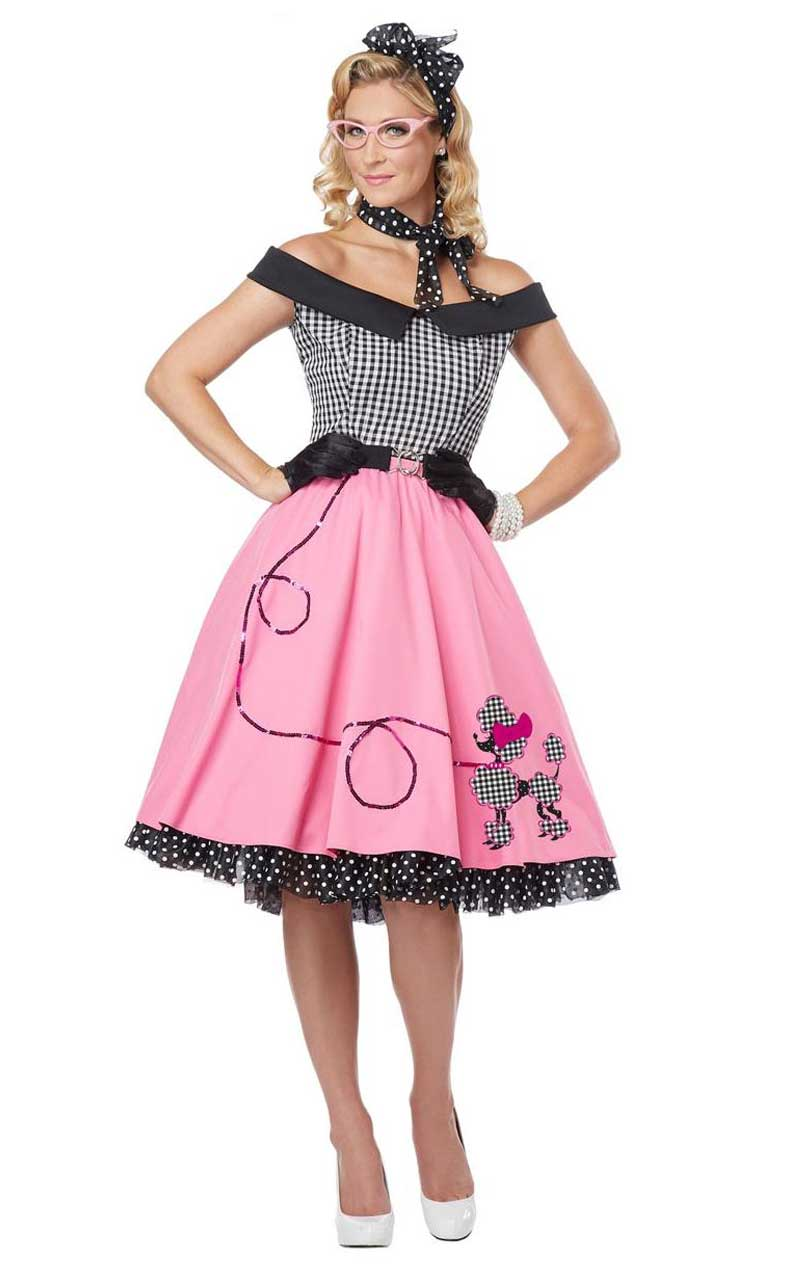 Nifty 50's Dress Costume
