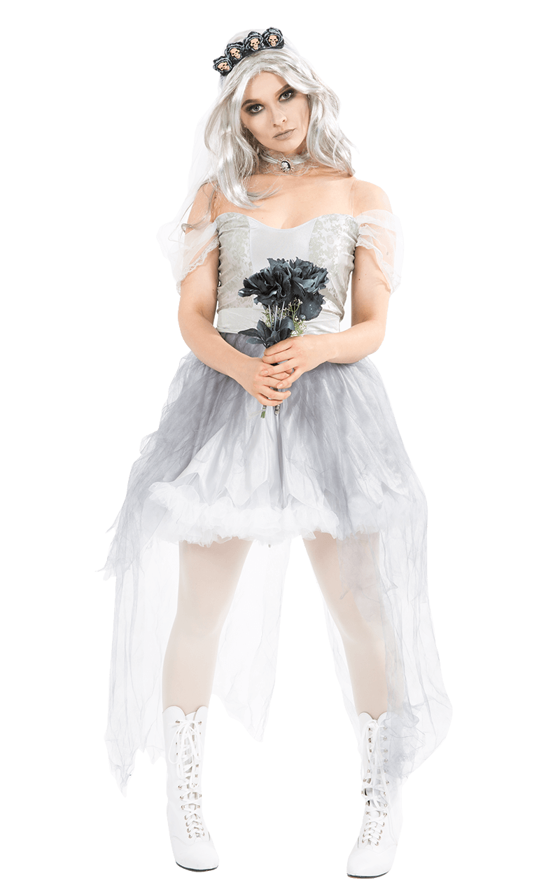 Ghostly Bride Spirit Costume