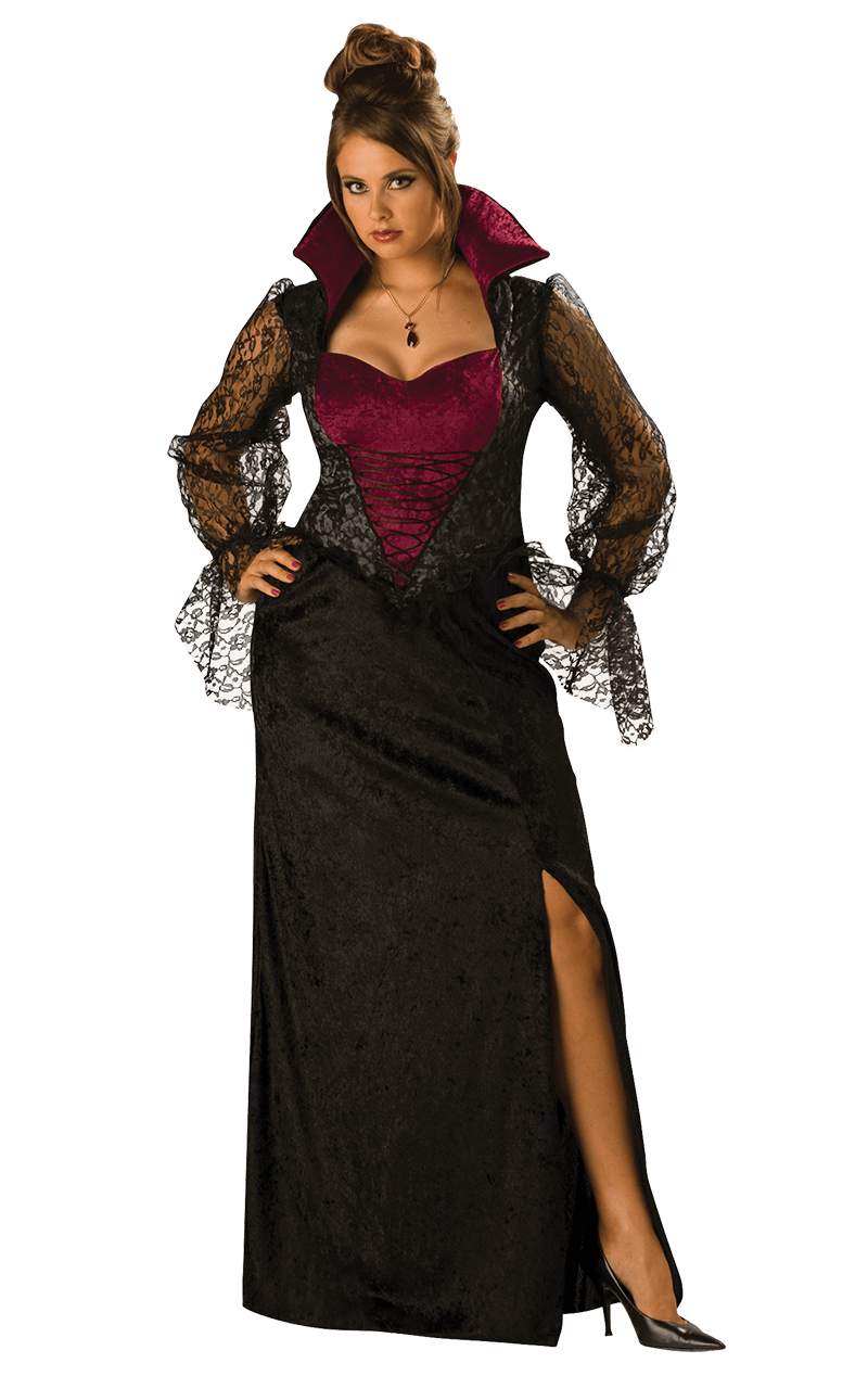 Lady Vampire Plus Size Costume