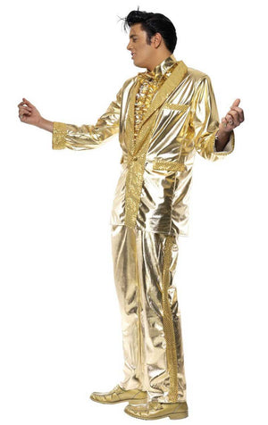 Elvis Gold Suit Costume