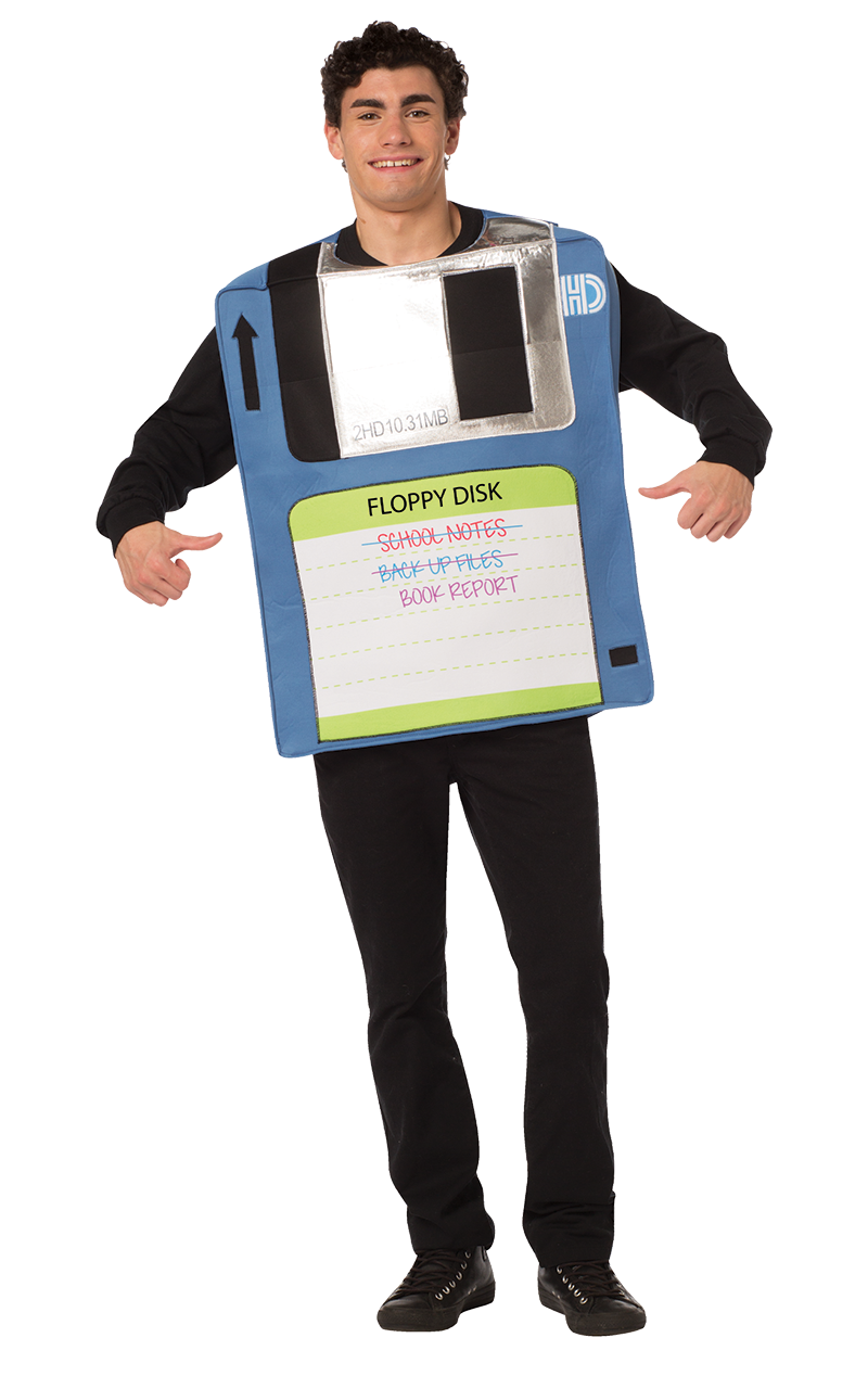 Floppy Disc Costume